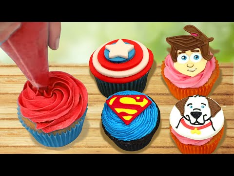 Cupcake Mania | Cupcake Decorating Ideas And Techniques | Part 2 | HooplaKidz Recipes