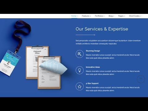 #8 Our services section || PSD to Responsive Html5 website