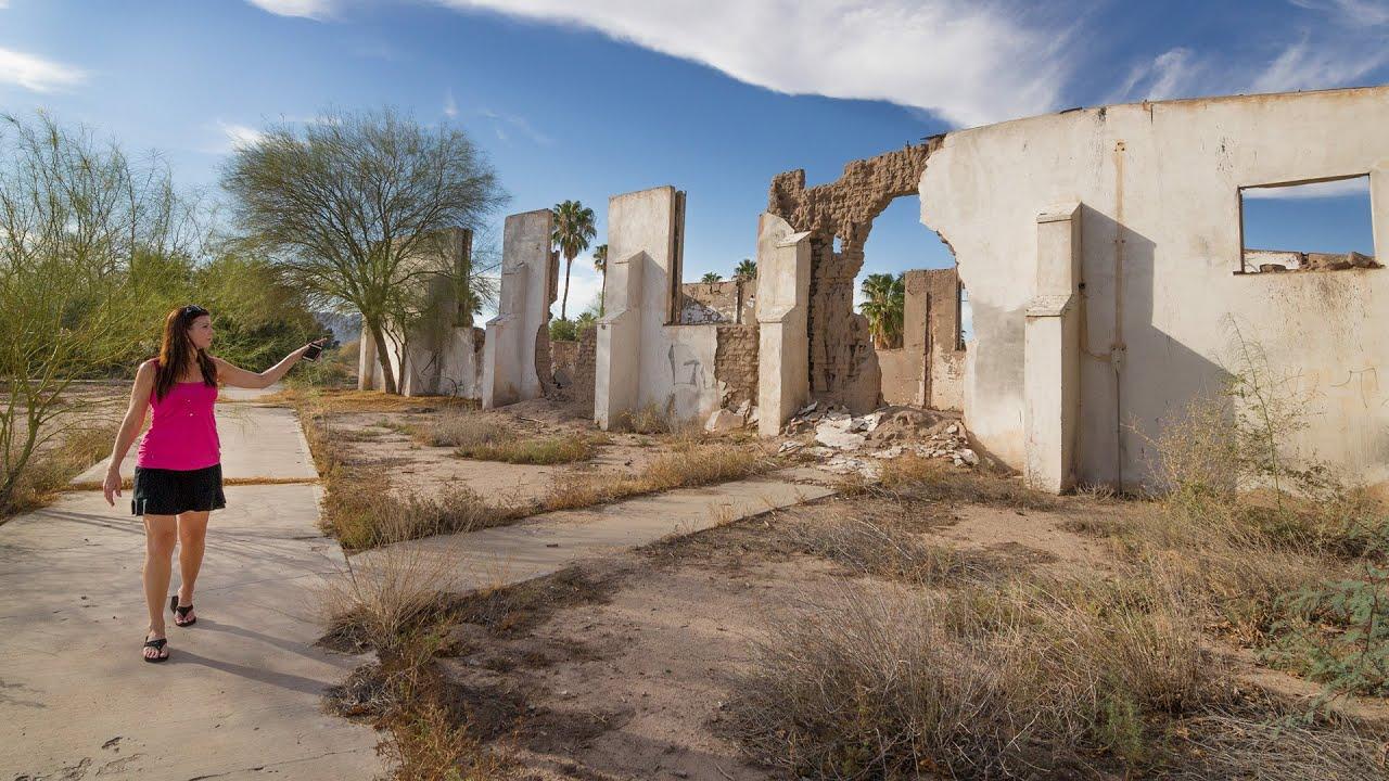 Abandoned Poston War Relocation Camp