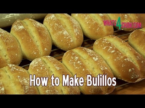 How to Make Bolillos - Mexican Baguettes