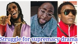 Davido, Wizkid and Burna Boy epic drama that every body is talking about.