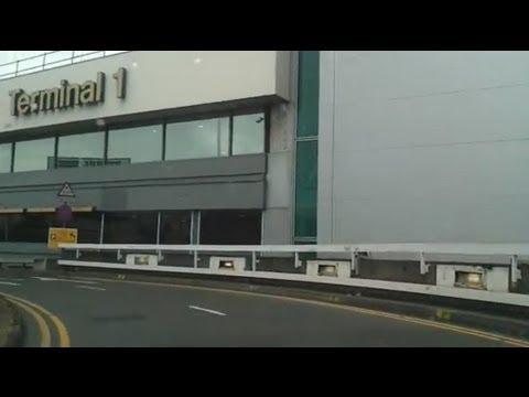 Driving in London - Hammersmith to Heathrow Airport T1