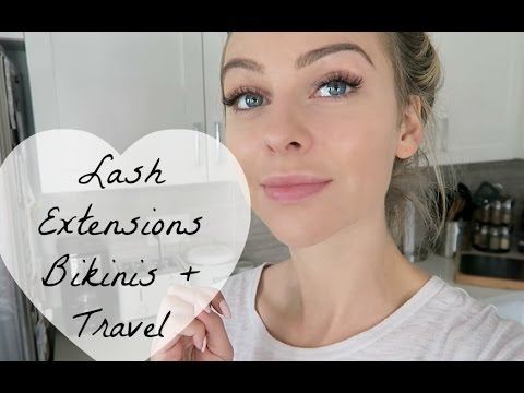 Lash Extensions, Bikinis, Travel
