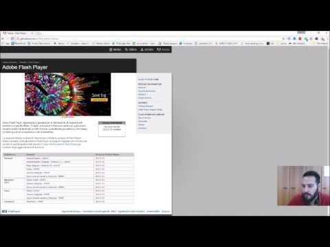 Abilitazione Flash Player Chrome