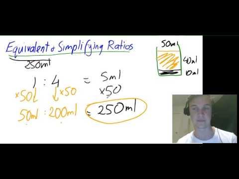 Equivalent & Simplifying Ratios