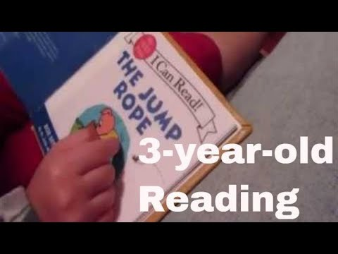 Three year old Reading