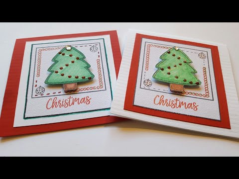 5 x 5 MINI CHRISTMAS TREE CARD | MAYMAY MADE IT DESIGN TEAM
