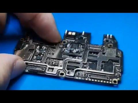 Full Shorting Water Damaged Phone How to Repair (IC REBALLING)How to Repair Short Mobile Phones