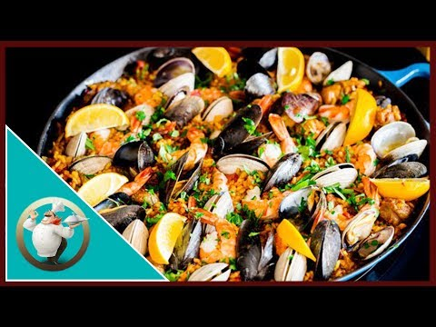 Chicken And Seafood Paella | Seafood And Rice Dish | 30 Min Paella