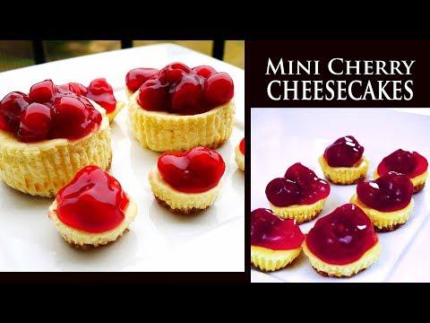 Mini Cherry Cheesecakes   Grandma's Holiday Recipe
