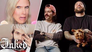 Tattoo Artists React to Jeffree Star, PewDiePie, and Other YouTuber's Tattoos   Tattoo Artists React