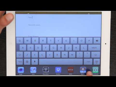 How to Lock the Keyboard on an iPad to Type a Letter : Tech Yeah!
