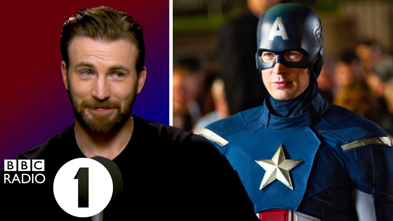 """""""Best decision of my life!"""" Chris Evans on becoming Captain America."""