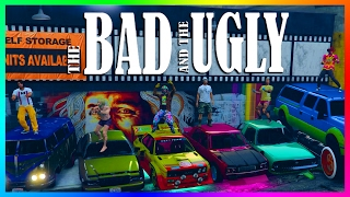 GTA ONLINE PLASTIC SURGERY GONE WRONG! - CREATING THE MOST UGLY CARS & WORST LOOKING GTA 5 VEHICLES!