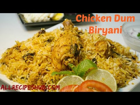 Easy Chicken Dum Biryani | Hyderabadi Chicken Biryani | Chicken Biryani Restaurant Style