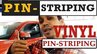 Pin-striping My Tacoma - Vinyl Pin-striping Ideas For You