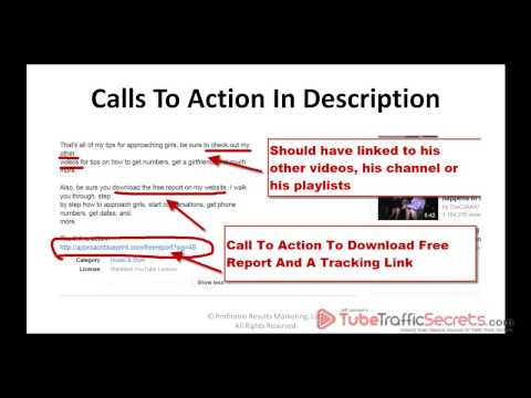 Secret To Getting More YouTube Video Views And Traffic For Free With A Keyword Rich Description