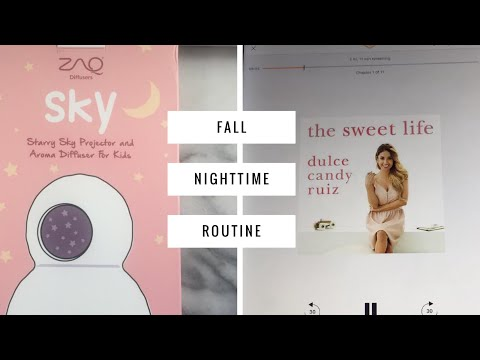 Fall Bedtime Routine