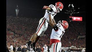 #3 Georgia vs #2 Oklahoma | 2018 Rose Bowl Game Highlights