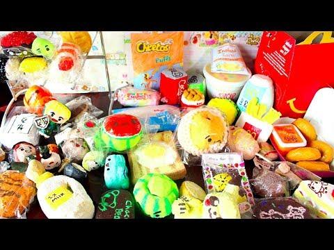 Homemade Squishy Mart(skit/homemade squishy collection)