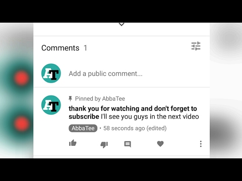 YouTube trick - how to make bold comment