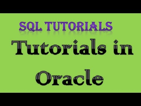 SQL Tutorial in Oracle - 4 NULL, LIKE, DISTINCT, ORDER BY