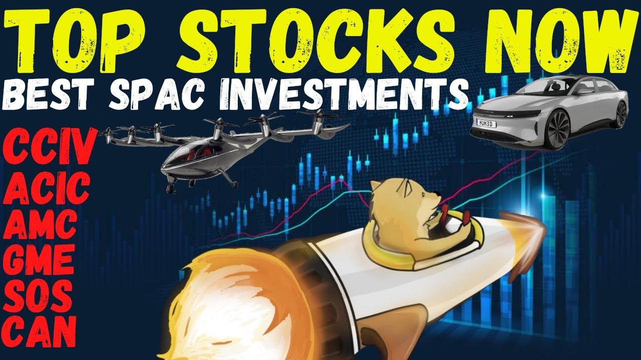 Stock Market Day Trading | AMC & GME Gamestop Squeeze!? Spacs CCIV ACIC | Not A Market Crash