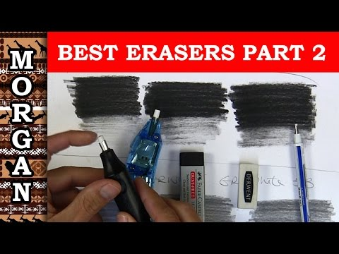 Ultimate Eraser review part 2 - electric erasers + Faber Castell - Jason Morgan