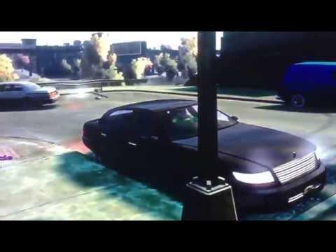 Undercover Police Car mod Xbox 360