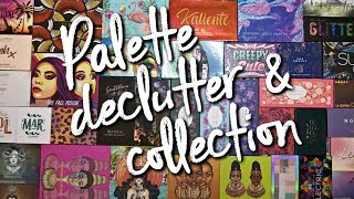 Eyeshadow Palette Collection & Declutter | 160+ palettes