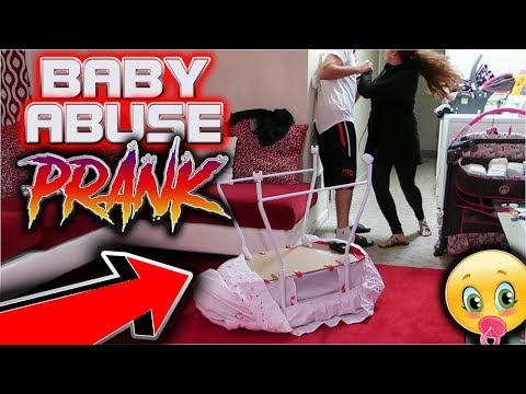 BABY ABUSE PRANK on GIRLFRIEND!! (GOES WRONG)