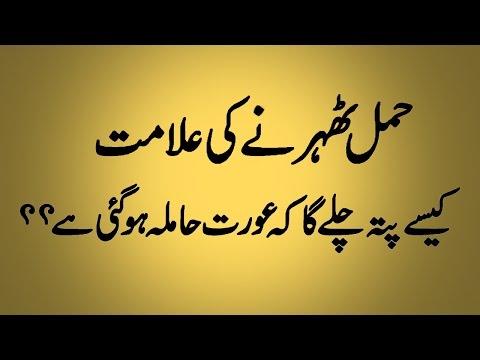 Hamal Ki Alamat In Urdu  Signs Of Pregnancy