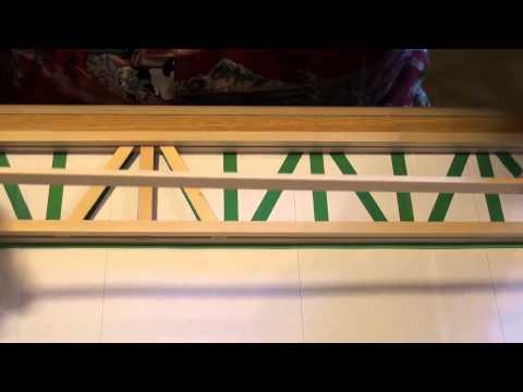 How To Make The Popsicle Railroad Bridge - Part 2