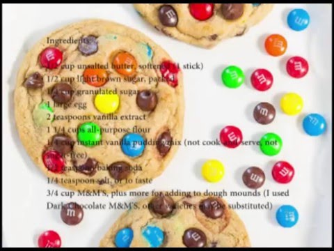Detailed Instructions How To Make Chewy M&M'S Cookies
