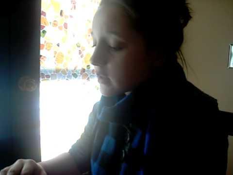Breanna singing Emergency Room by Rhianna