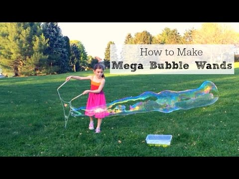 How to Make Mega Bubble Wands