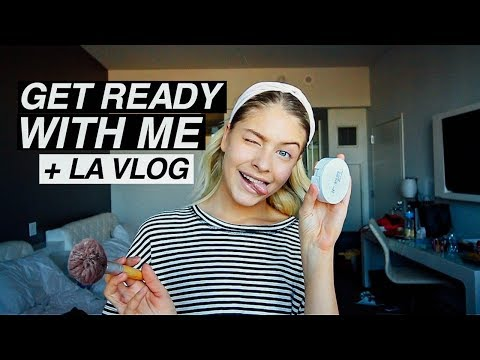Get Ready With Me - LA Event