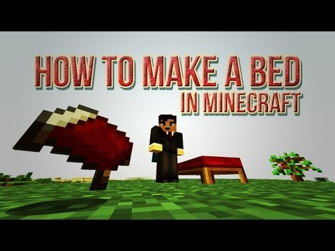 How To Make a Bed In Minecraft [Wood, Wool & Crafting Recipe]