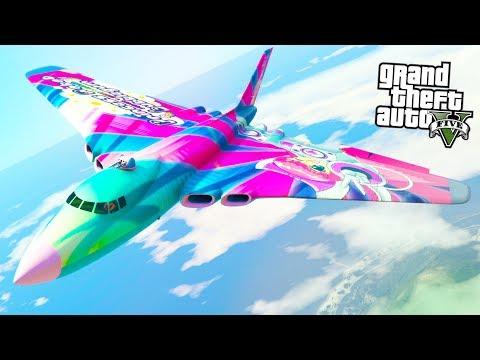 THIS NEW BOMBER IS HUGE! (GTA 5 Doomsday Heist DLC)