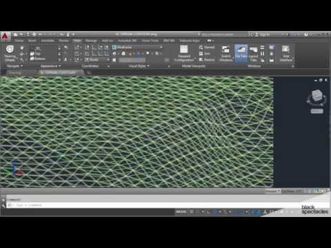 Modeling Terrain in AutoCAD - Architecture Software Crash Course