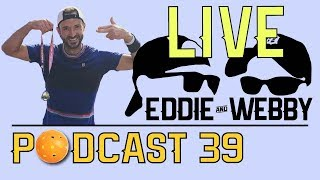 Download Eddie and Webby Podcast 39 - Matt Lauria Joins us to Drink, Medal Count & recap the 2019 US Open! Video