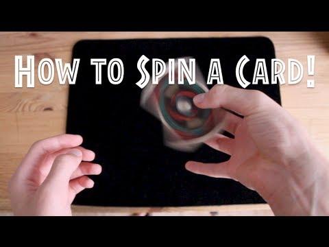 Pirouette Card Spin//Card Flourish Tutorial//Learn Cardistry