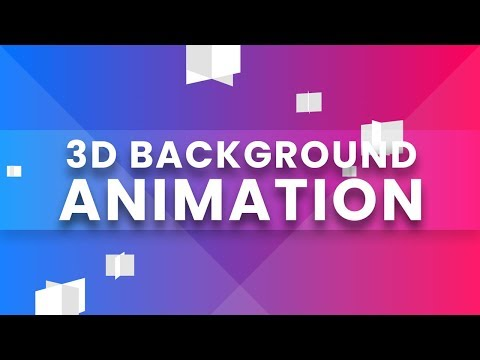 3D Background Animation   CSS Animation Effects