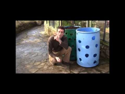How to make a strawberry barrel / bin! How to make a herb barrel or bin