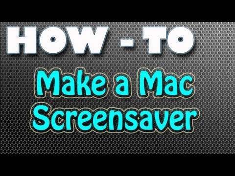 How-To: Make Your Own Mac Screensaver [Mountain Lion]