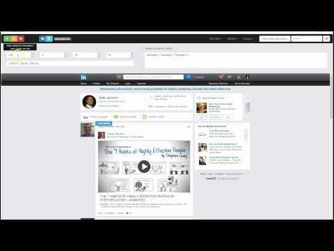 LinkedIn Marketing Software - LinkedEngine Post to Groups -- LinkedIn Automation Software