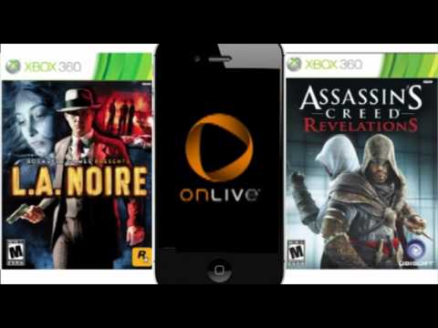 Xbox games on your iPad and iPhone 4S - OnLive App