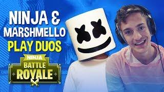 Ninja & Marshmello Play Duos!! - Fortnite Battle Royale Gameplay
