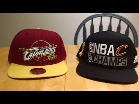 Cleveland Cavaliers Hat Review Mitchell & Ness Wine and Gold