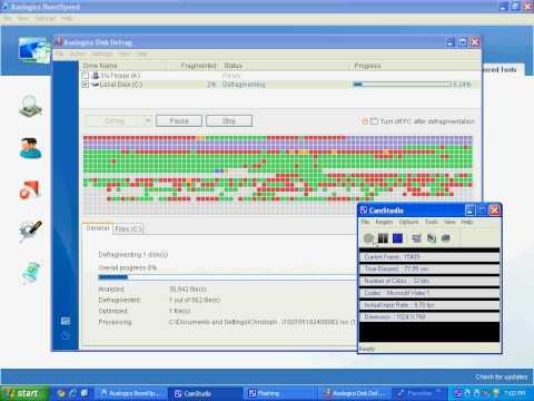 How to Run The Disk Defragmentation in Auslogics Boostspeed